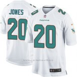 Camiseta Miami Dolphins Jones Blanco Nike Game NFL Nino