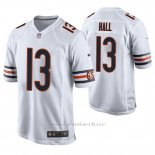 Camiseta NFL Game Hombre Chicago Bears Marvin Hall Blanco