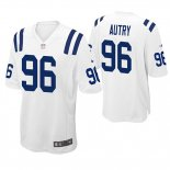 Camiseta NFL Game Hombre Indianapolis Colts Denico Autry Blanco