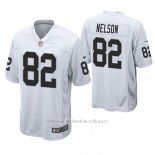 Camiseta NFL Game Hombre Oakland Raiders Jordy Nelson Blanco