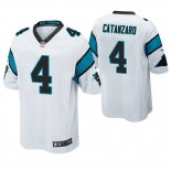 Camiseta NFL Game Hombre Panthers Chandler Catanzaro Blanco
