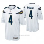Camiseta NFL Game Hombre San Diego Chargers Michael Badgley Blanco