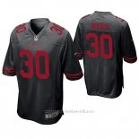 Camiseta NFL Game Hombre San Francisco 49ers Greg Mabin Negro