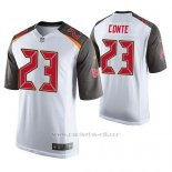 Camiseta NFL Game Hombre Tampa Bay Buccaneers Chris Conte Blanco