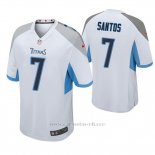 Camiseta NFL Game Hombre Tennessee Titans Cairo Santos Blanco
