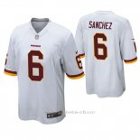 Camiseta NFL Game Hombre Washington Redskins Mark Sanchez Blanco