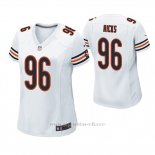 Camiseta NFL Game Mujer Chicago Bears Akiem Hicks Blanco