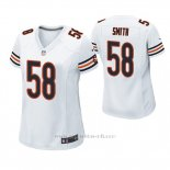 Camiseta NFL Game Mujer Chicago Bears Roquan Smith Blanco