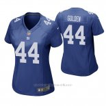 Camiseta NFL Game Mujer New York Giants Markus Golden Azul