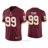 Camiseta NFL Game Washington Redskins Chase Young 2020 Vapor Rojo