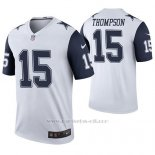 Camiseta NFL Legend Hombre Dallas Cowboys Deonte Thompson Blanco Color Rush