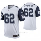 Camiseta NFL Legend Hombre Dallas Cowboys Kerry Hyder Jr. Blanco Color Rush