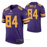 Camiseta NFL Legend Minnesota Vikings Irv Smith Jr. Color Rush Violeta