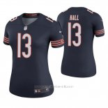 Camiseta NFL Legend Mujer Chicago Bears Marvin Hall Azul Color Rush