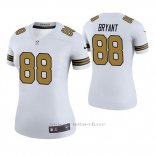 Camiseta NFL Legend Mujer New Orleans Saints Dez Bryant Blanco Color Rush