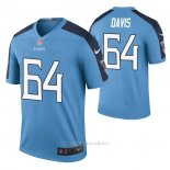 Camiseta NFL Legend Tennessee Titans Nate Davis Color Rush Azul