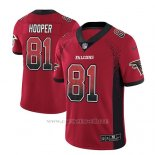 Camiseta NFL Limited Hombre Atlanta Falcons Austin Hooper Rojo 2018 Drift Fashion Color Rush