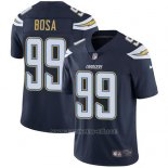Camiseta NFL Limited Hombre Los Angeles Chargers 99 Joey Bosa Azul Stitched Apor Untouchable