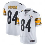 Camiseta NFL Limited Hombre Pittsburgh Steelers 84 Brown Blanco