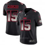 Camiseta NFL Limited Kansas City Chiefs Mahomes Smoke Fashion Negro