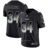 Camiseta NFL Limited Las Vegas Raiders Jackson Smoke Fashion Negro