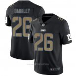 Camiseta NFL Limited New York Giants Barkley Black Impact