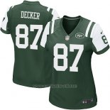 Camiseta New York Jets Decker Verde Nike Game NFL Mujer