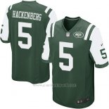 Camiseta New York Jets Hackenberg Verde Nike Game NFL Nino