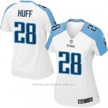 Camiseta Tennessee Titans Huff Blanco Nike Game NFL Mujer