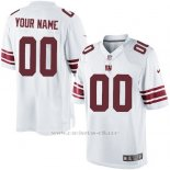 Camisetas NFL Limited Hombre New York Giants Personalizada Blanco