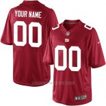 Camisetas NFL Limited Hombre New York Giants Personalizada Rojo