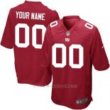 Camisetas NFL Limited Nino New York Giants Personalizada Rojo