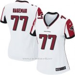 Camiseta Atlanta Falcons Hageman Blanco Nike Game NFL Mujer