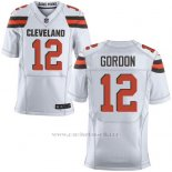 Camiseta Cleveland Browns Gordon Blanco Nike Elite NFL Hombre