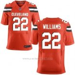 Camiseta Cleveland Browns Williams Rojo Nike Elite NFL Hombre