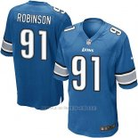 Camiseta Detroit Lions Robinson Azul Nike Game NFL Hombre