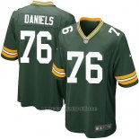 Camiseta Green Bay Packers Daniels Verde Militar Nike Game NFL Nino