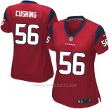 Camiseta Houston Texans Cushing Rojo Nike Game NFL Mujer