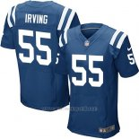 Camiseta Indianapolis Colts Irving Azul Nike Elite NFL Hombre