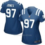 Camiseta Indianapolis Colts Jones Azul Nike Game NFL Mujer