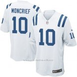 Camiseta Indianapolis Colts Moncrief Blanco Nike Game NFL Nino