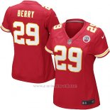Camiseta Kansas City Chiefs Berry Rojo Nike Game NFL Mujer