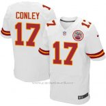 Camiseta Kansas City Chiefs Conley Blanco Nike Elite NFL Hombre