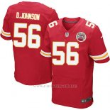 Camiseta Kansas City Chiefs D.Johnson Rojo Nike Elite NFL Hombre