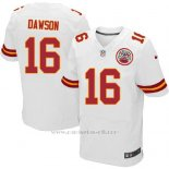Camiseta Kansas City Chiefs Dawson Blanco Nike Elite NFL Hombre