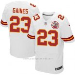 Camiseta Kansas City Chiefs Gaines Blanco Nike Elite NFL Hombre