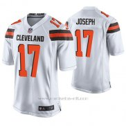 Camiseta NFL Game Hombre Cleveland Browns Greg Joseph Wihte