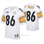 Camiseta NFL Game Hombre Pittsburgh Steelers 86 Hines Ward 2005 Autentico Blanco