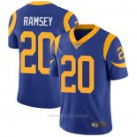Camiseta NFL Game Los Angeles Rams 20 Jalen Ramsey Alternate Azul