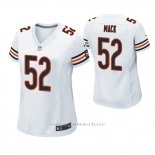 Camiseta NFL Game Mujer Chicago Bears Khalil Mack Blanco